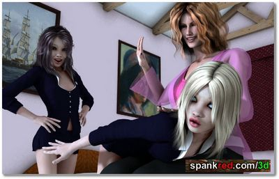 Spankred 3D password